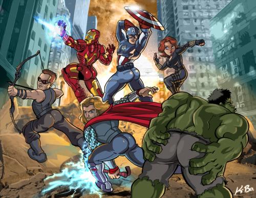 Kevin Bolk Avengers